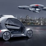 Pop.Up Next: Passagierdrohne  & autonomes Auto: Kooperation von AUDI, AIRBUS & Italdesign