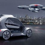 Pop.Up Next: Passagierdrohne  & autonomes Auto: Kooperation von AUDI, AIRBUS & Italdesign